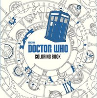 BBC Doctor Who Coloring Book