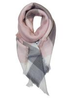 Jules Smith - Kate Pink Plaid Scarf