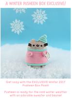 Pusheen Winter 2017 box plush