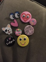 Assorted Kidpik pins