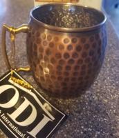 Antique Copper Moscow Mule mug
