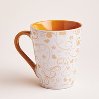 Ceramic Mug with Flowers