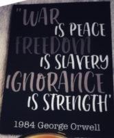 George Orwell 1984 print