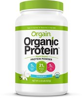 Orgain Organic Protein Plant Based Powder Vanilla Bean Sample
