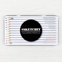 #SketchIt Coloring Pencil Set