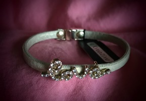 K. Kreative Leather LOVE bracelet