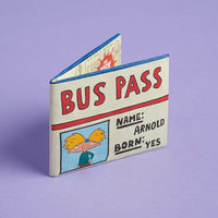 Hey Arnold Bus Pass Wallet