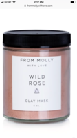 From Molly with Love Wild Rose Clay Mask