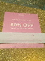 50% off julep purchase