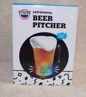 LED BLINKING BEER PITCHER  48OZ