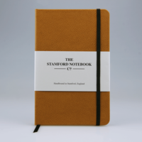 The Stamford Notebook Co. Recycled Leather Pocket Notebook