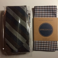 Tie and Matching Pocket Square