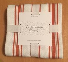Grove Collaborative Limited Ed Colour Kitchen Towel - Persimmon Orange