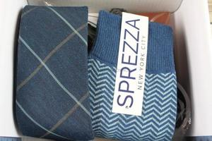 Indochino Necktie and Sprezza Socks