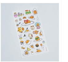 Gudetama Holiday Stickers