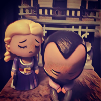 Westworld Dolores Abernathy & Arnold Weber Figure
