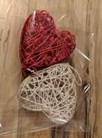 Handmade Mini Heart Basket Ornaments