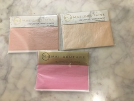 Mai Couture Blush and Highlighter Paper