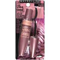 Maybelline Lash Sensational Curvitude Washable Mascara,  VERY BLACK,  0.33 fluid oz
