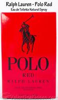 Polo Red Ralph Lauren Eau de Toilette Sample