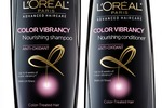 L'oreal Color Vibrancy Nourishing Shampoo and Conditioner