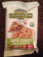 Cascadian Farm Organic Super Squares in Vanilla Apple