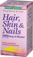 Nature's Bounty Hair, Skin & Nails, 60 coated caplets