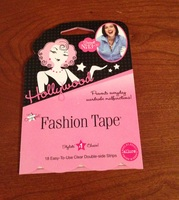How to use hollywood fashion tape