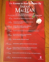Poster - Ten Reasons to Read Romance by Sarah MacLean