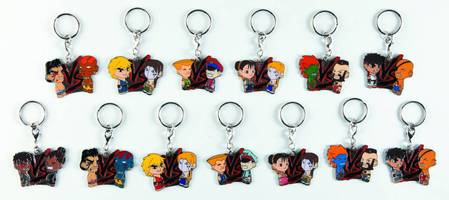 Street Fighter VS keychain