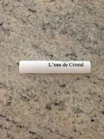 l'eau de cristal Joan Vass