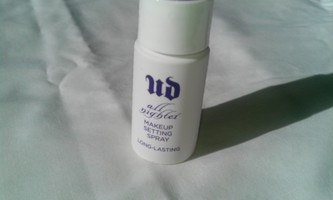 Urban Decay All Nighter makeup spray--travel size