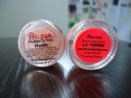 Brazen ultra glaze lipgloss hush
