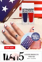 Stars and Stripes nail polish