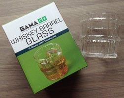 Whiskey Barrel Glass