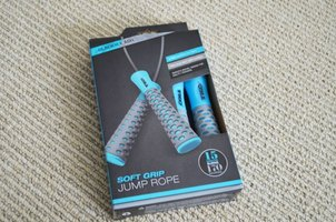TKO Soft Grip Jumprope - Glacier and Ash