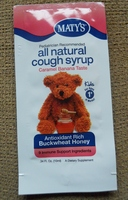 Maty' All Natural Cough Syrup