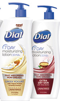 Dial 7 Day Moisturizing Lotion - Samples