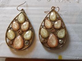 Bijoux Coral Peach Earrings