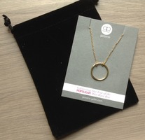 Gorjana open circle necklace