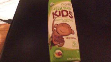 orgain healthy kids organic shake chocolate