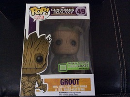 Pop! Marvel Guardians of the Galaxy-Groot
