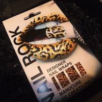 Nail Rock Nail Wraps - Leopard