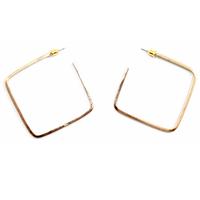Ainsley gold hoop earrings