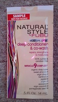 Natural Style by Fubu deep conditioner & co-wash