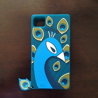 case mate peacock iphone 4/4s case, silicone