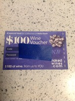 $100 Wine Voucher for Nakedwines.com