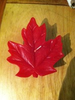 Leaf Candle by Armadilla Wax Works