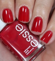 """Essie """"she's pampered"""" from the September Glossybox for Harper's Bazaar """"an indulgent red"""" $8.50 for .46 fl OZ"""