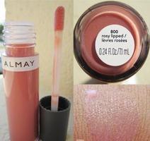 almay liquid lip balm - rosy lipped